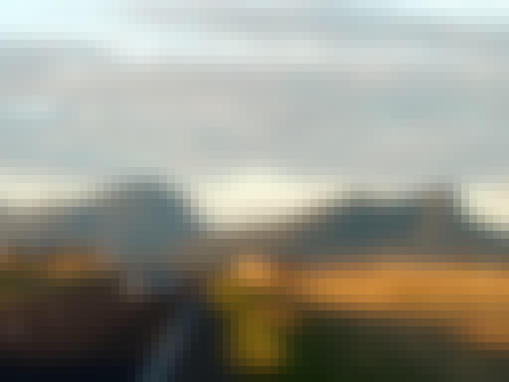 Panoramic car shots towards Dunkeld 1