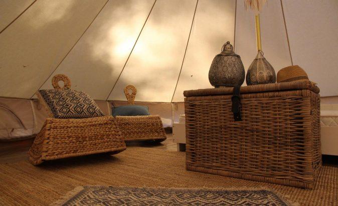 Halls-Gap-Lakeside-Bell-Tent-Inside