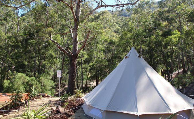 Halls-Gap-Lakeside-Bell-Tent
