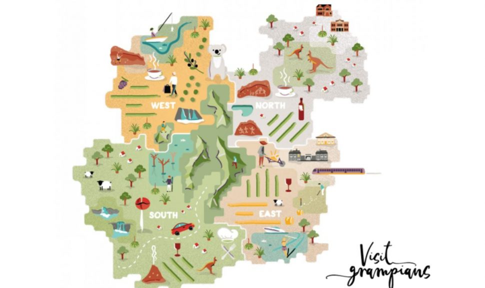 Grampians-Way-Map